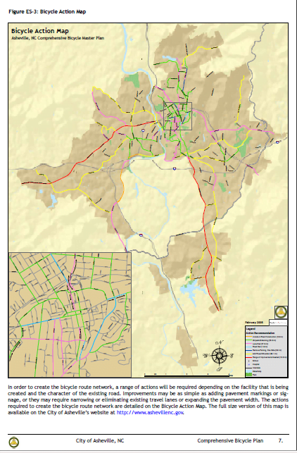 Asheville Comprehensive Bike Plan