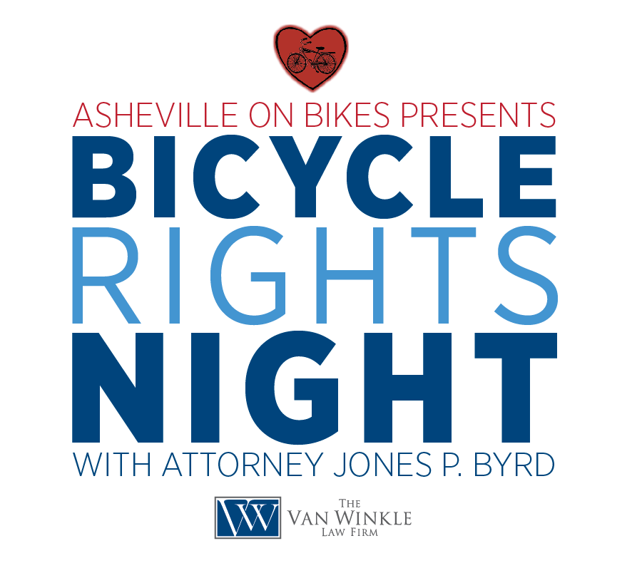 AoB presents Bicycle Rights Night with Van Winkle Law Firm