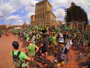 Bike of the Irish 2014 celebrates the green and greenways!