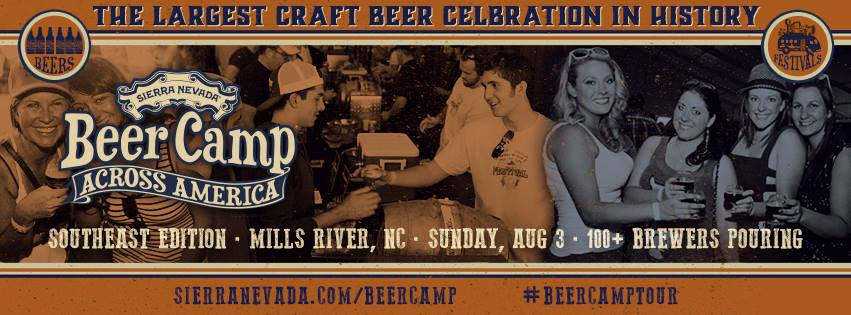 Sierra Nevada Beer Camp Comes to Mills River NC