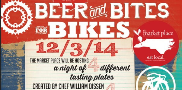 Beer and Bikes Asheville on Bikes' 8th Birthday Bash at The Marketplace December 3rd, 2014