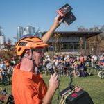 The annual Pumpkin Pedaller photo