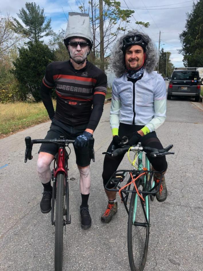 Asheville on Bikes Pumpkin Pedaller 2020 Best Costume
