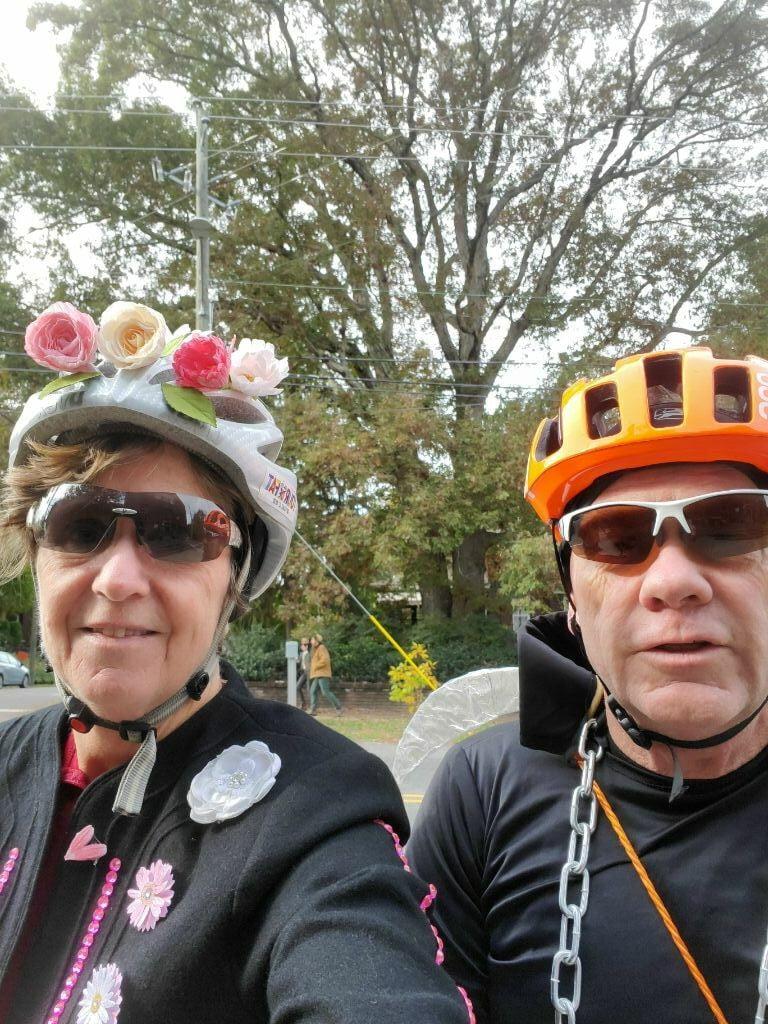 Asheville on Bikes Pumpkin Pedaller 2020 Monty Rides Again