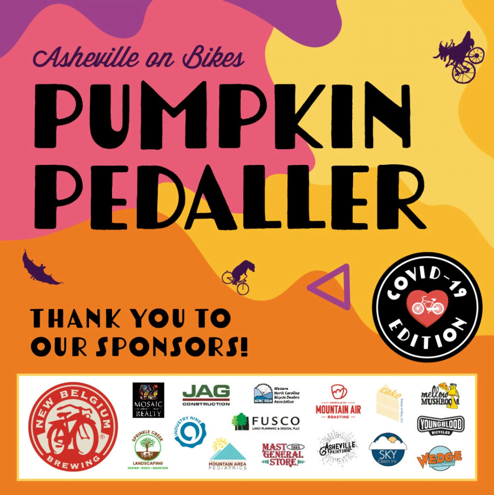 Pumpkin Pedaller Sponsors