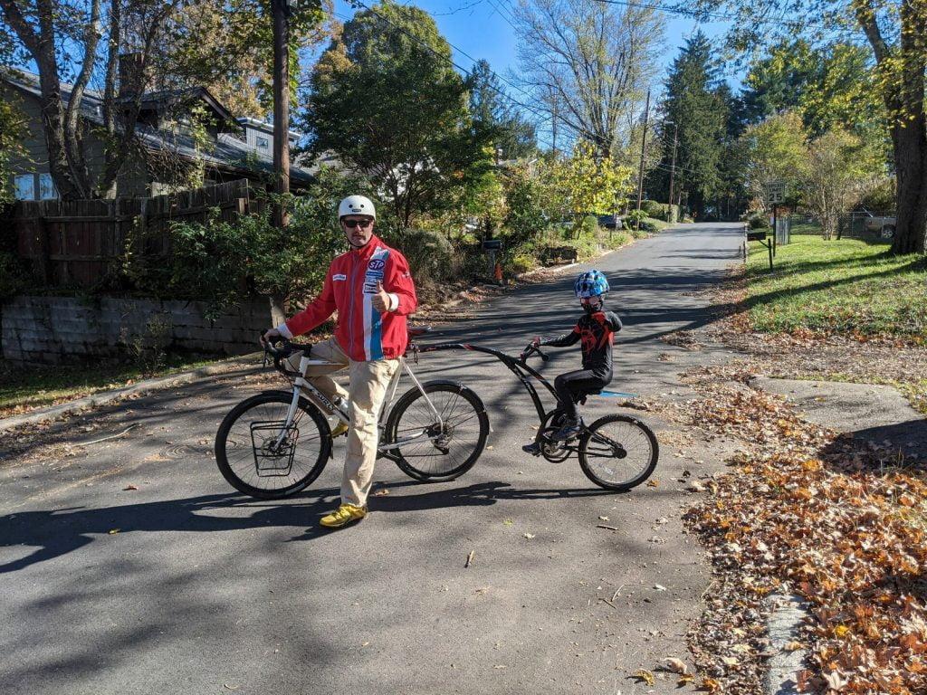 Asheville on Bikes Pumpkin Pedaller 2020 Spider Bike
