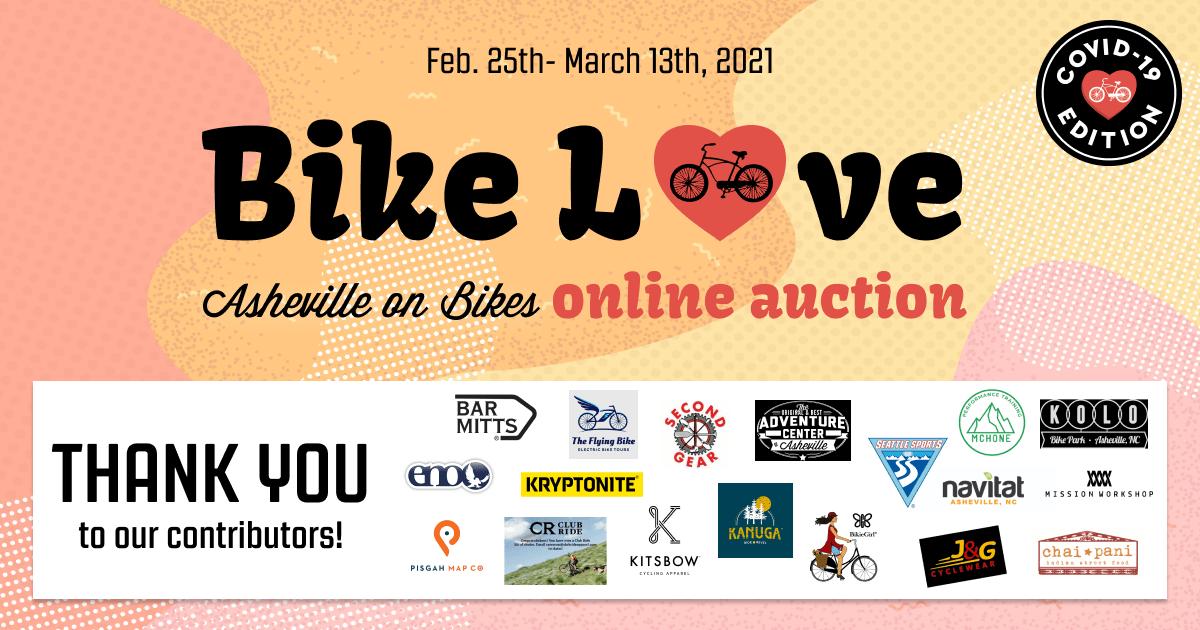 AOB Bike Love 2021 Silent Auction