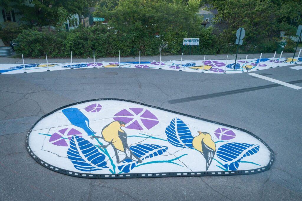 Christopher's Garden Inspired Street Art