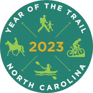 NC 2021 Year of the Trail Logo